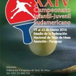 Afiche campenato juvenil 2